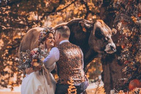 A Rustic Autumn Wedding Shoot at Townhead Estate (c) Clare Geldard Photography (11)