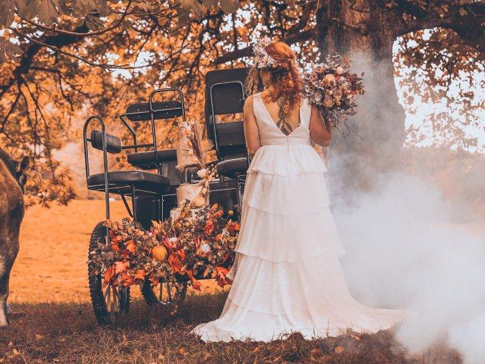 A Rustic Autumn Wedding Shoot at Townhead Estate (c) Clare Geldard Photography (24)