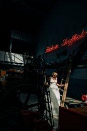 An Urban Wedding Styled Shoot at Kelham Island Museum (c) Veil & Gun Photography (31)