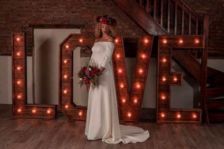 Rustic Wedding Shoot at The Barn at Yew Tree Farm (c) SJM Photography (33)