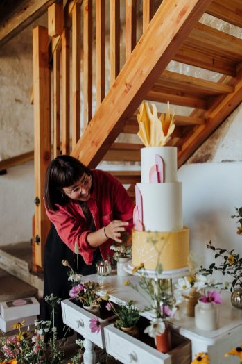 Rustic Wedding Styled Shoot at Woolas Barn (c) Sarah Beth Photography (22)