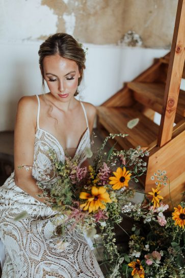 Rustic Wedding Styled Shoot at Woolas Barn (c) Sarah Beth Photography (28)