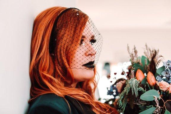 A Colourful Bridal Fashion Shoot at Deighton Lodge (c) Sasha Lee Photography (33)