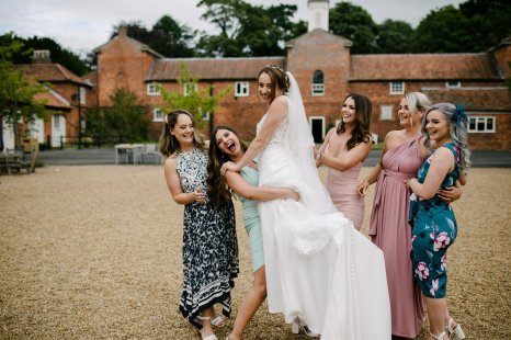 A Dusky Pink Rustic Wedding at Elsham Hall (c) Aden Priest Photography (49)