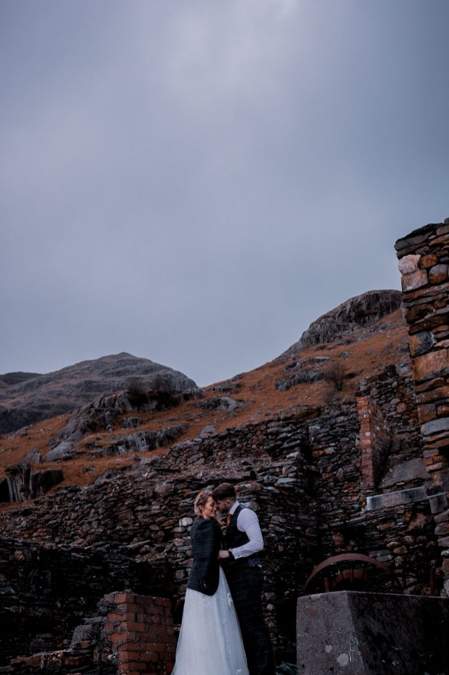 An Outdoor Wedding Shoot at Coniston Coppermines (c) Clare Geldard Photography (48)