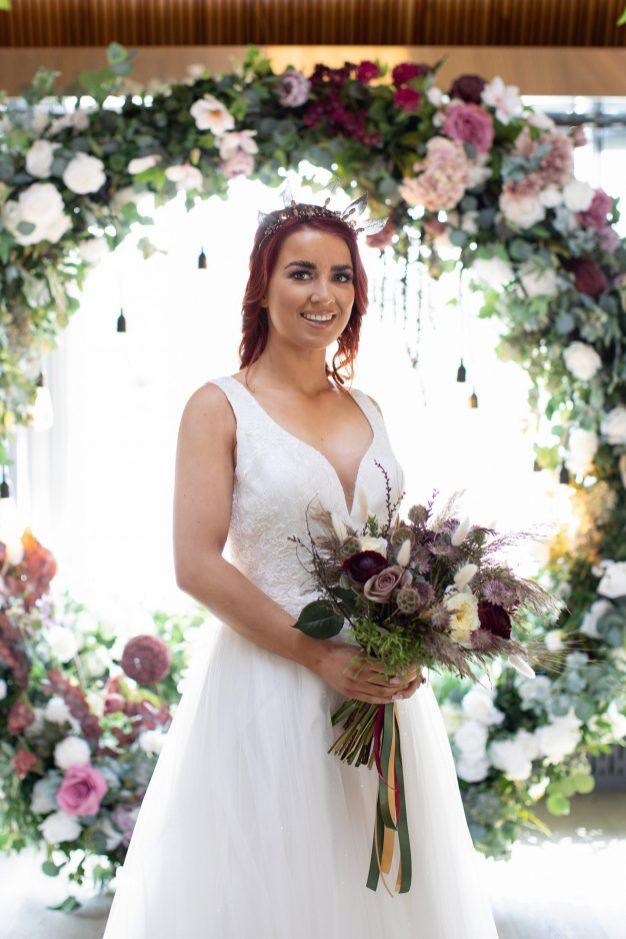 Romantic Wedding Inspiration Shoot at Brockholes (c) Rebecca Bridges Wedding Photography (5)