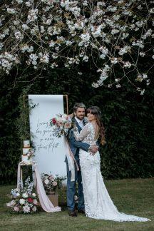 A Pretty Wedding Inspiration Shoot at Hazelwood Castle (c) Natalie Hamilton Photography (5)