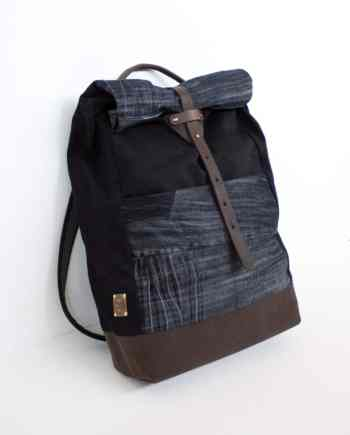 bridge&tunnel denim rucksack backpack jeans