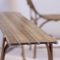 Ed Pimm DIY Ash Pewter bench