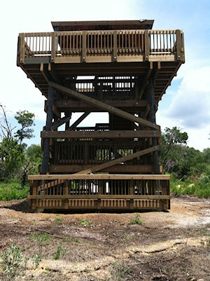 Observation Tower Construction at Neal Preserve