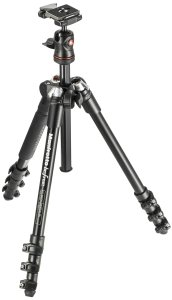 manfrotto befree travel compact tripod