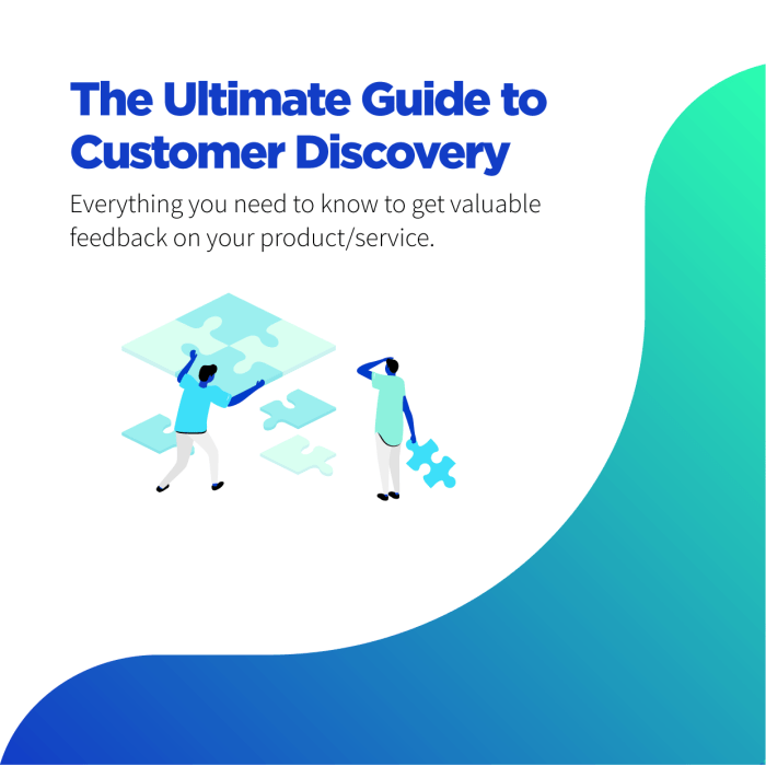 how to do customer discovery?
