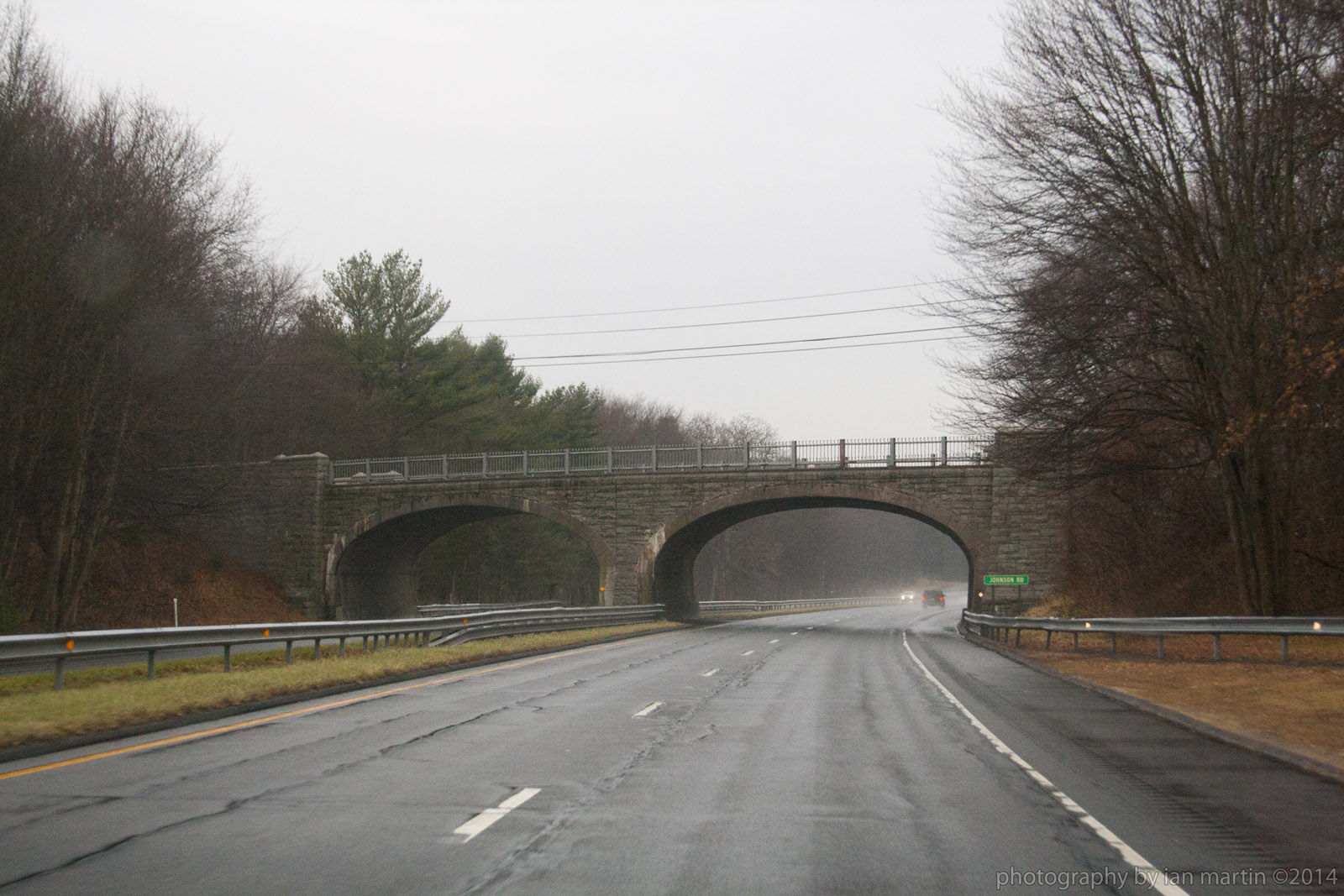 Bridgehuntercom  Johnson Road  Wilbur Cross Parkway Bridge