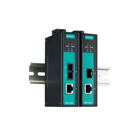 IMC-21GA-SX-SC-T MOXA Ethernet Converter IMC-21GA-SX-SC-T