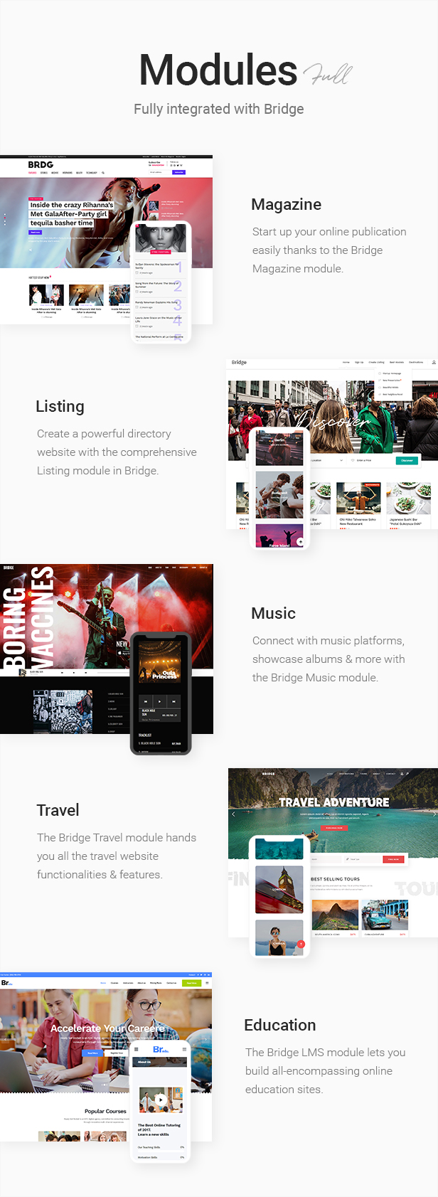 Bridge - Creative Multipurpose WordPress Theme - 10