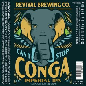 Revival Brewing Conga IPA Newport