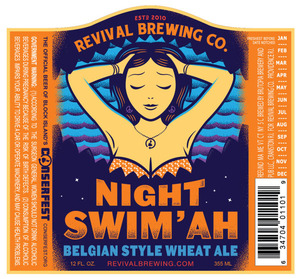 revival brewing night swim ah