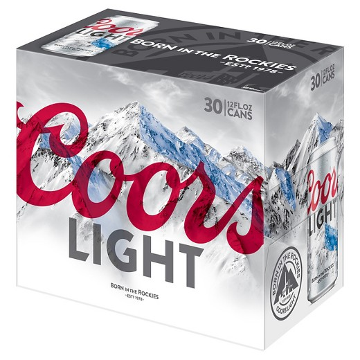 Coors Light 30 Pack