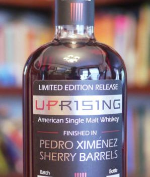 Sons Of Liberty Spirits Co. Uprising Single Malt Whiskey finished in Pedro Ximénez Sherry Barrels