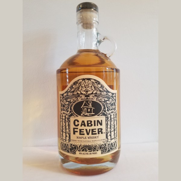 cabin fever maple whisky 750ml