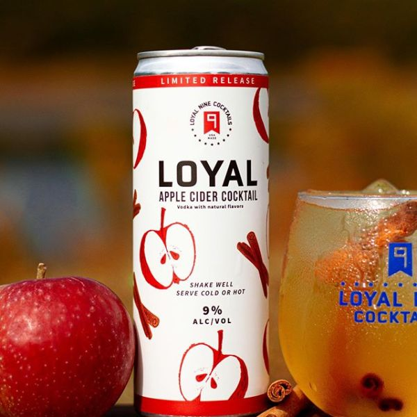Loyal Apple Cider Cocktail