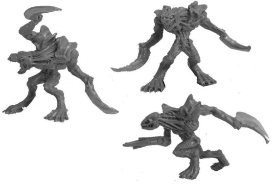 Lesser Abhor with Blade limbs