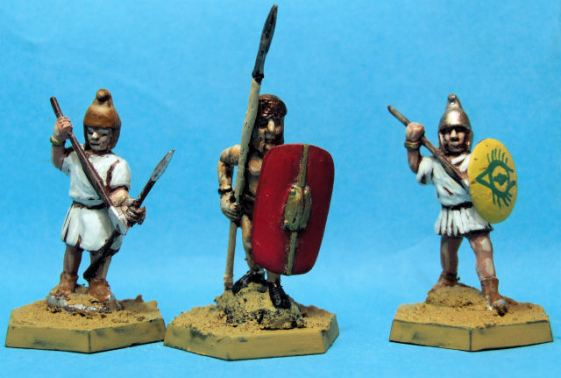 Velites with spear x 2 Hoplomachus with spear