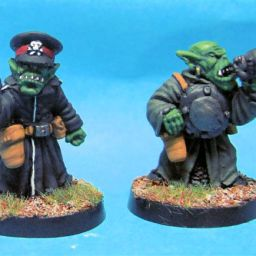 SF Goblin Commissar & Officer