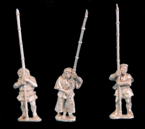 Peasants with Bamboo Spears