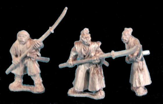 Unarmoured Samurai with Naginata