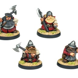 Dwarf Explorer with Axes