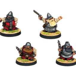 Dwarf Explorer with Swords & pistols