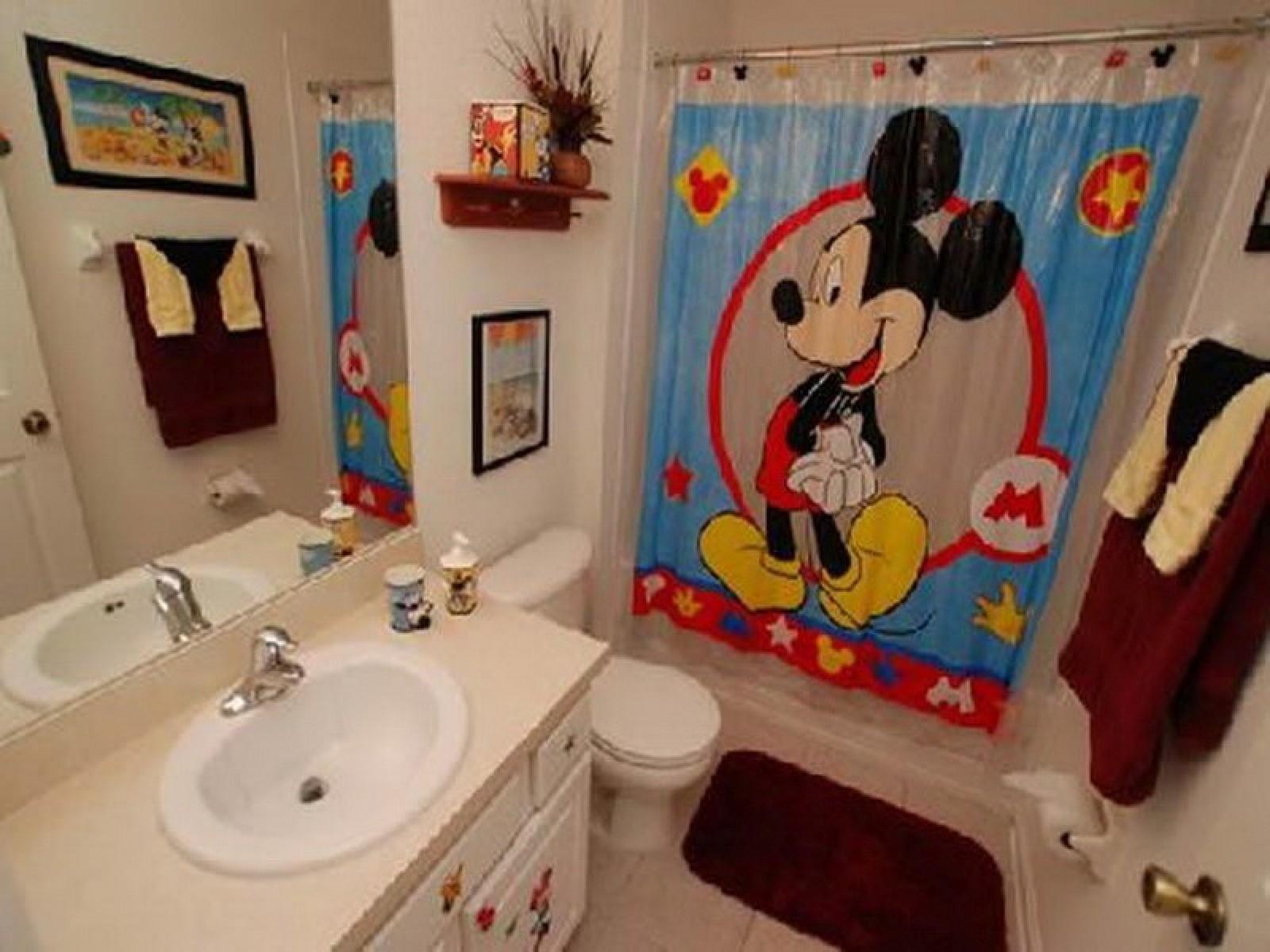 Best Mickey Mouse Bathroom Ideas  Bathroom Design Ideas