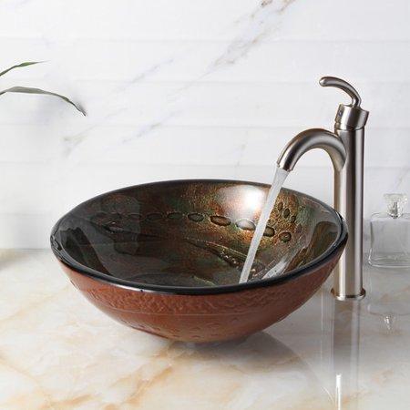 Fancy Bowl Sink Bathroom Pattern  Bathroom Design Ideas