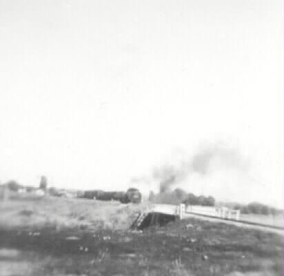 Train in Bridgeport yard.