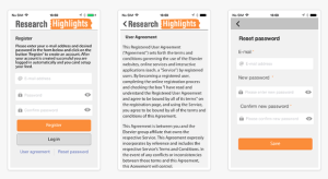 Research Highlights is a FREE to download app which supports users in their key task of keeping current with newly-published research.