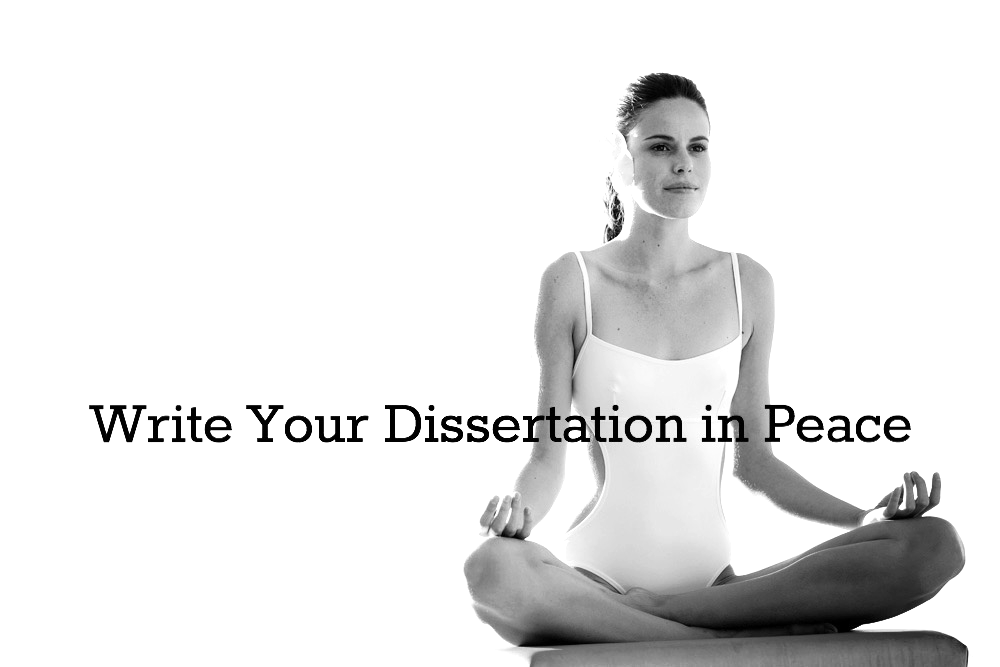 How to structure your thesis or dissertation – a pdf guide