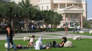 international students on global campuses