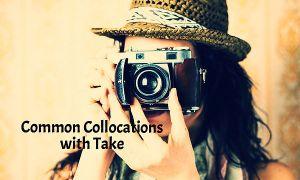 A girl takes a photograph