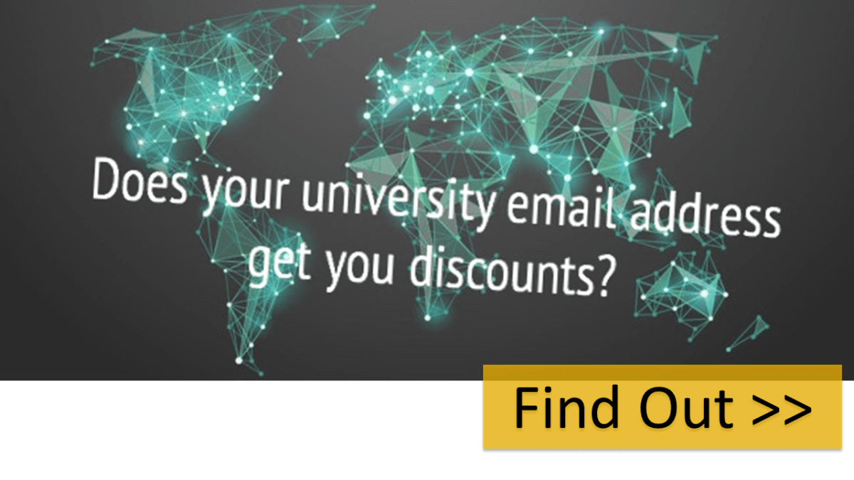 Find out if your university email address entitles you to discounted academic editing.