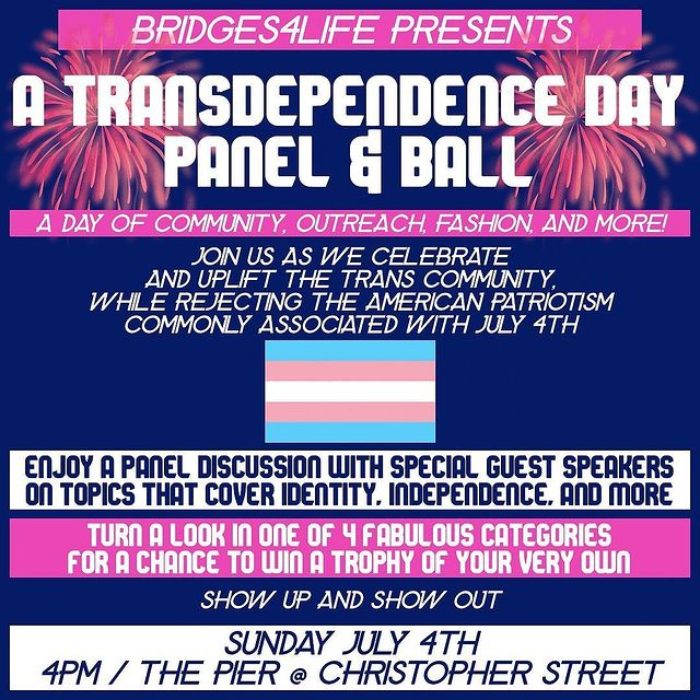 A Transdependence Day Panel & Ball