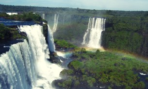 Iguazu Falls: excellent splendour of the universe