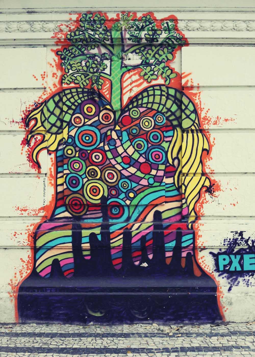 brocoli of the mind graffiti Sao Paulo