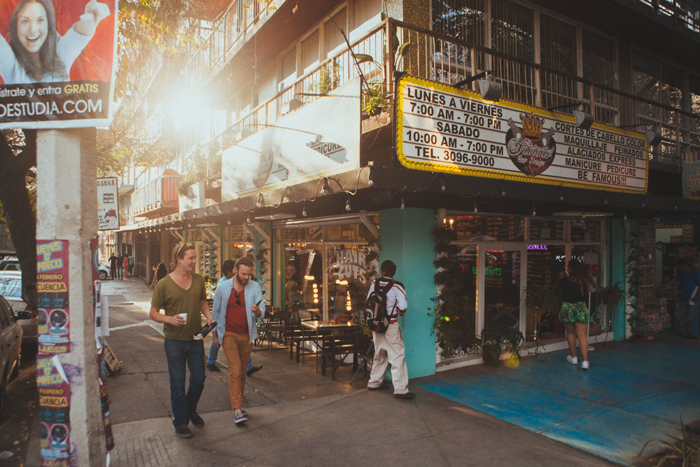 party hostel | WHERE I WENT & HOW I GOT THERE |Condesa District Mexico City