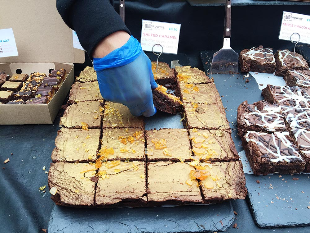 Broadway Market - Bad Brownies