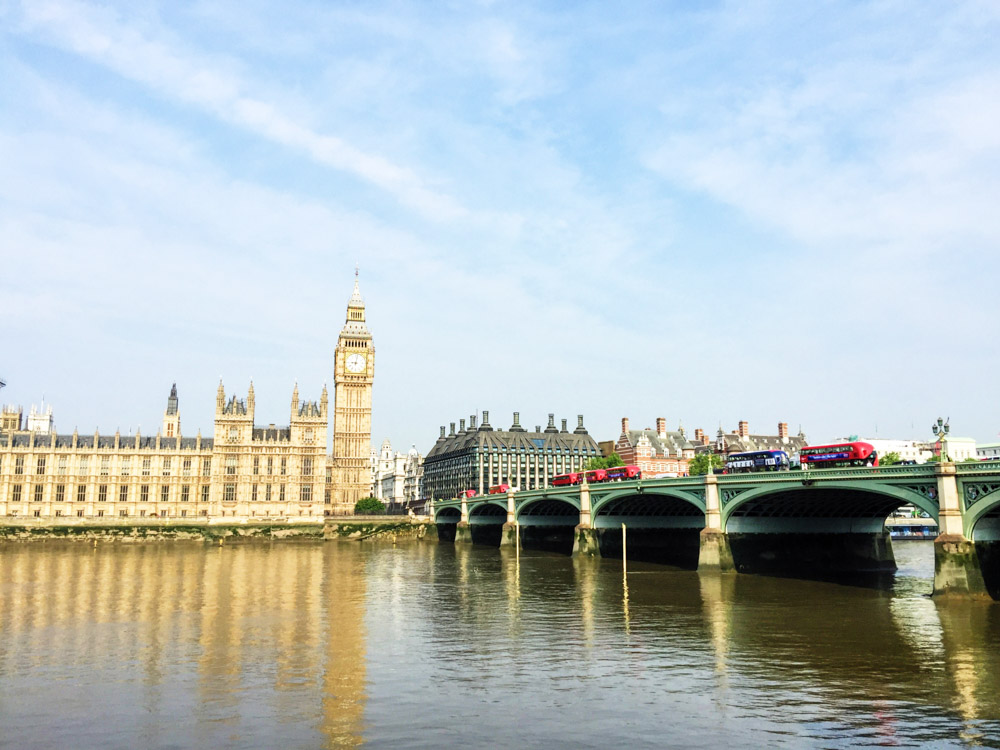 Best places to Instgram in London - Big Ben
