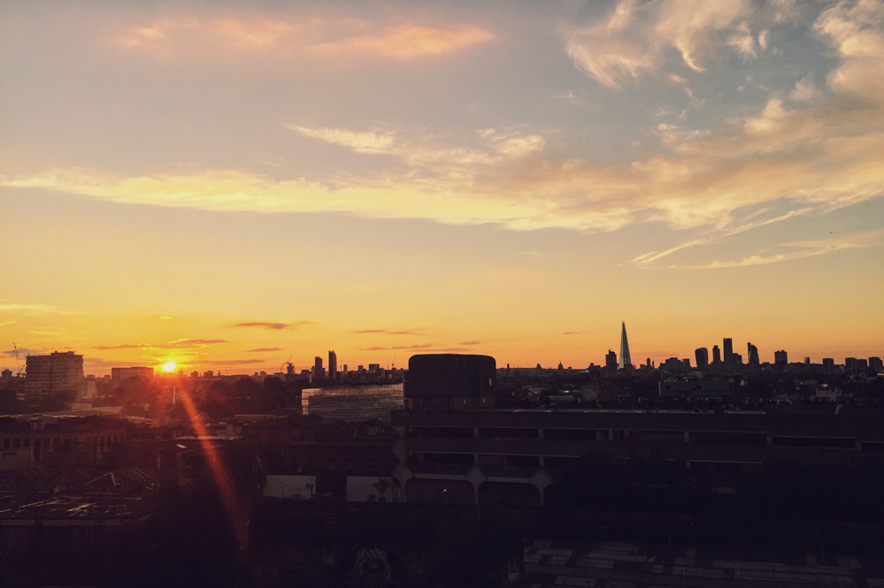 24 Hours in London as a Londoner - Rooftop Film Club
