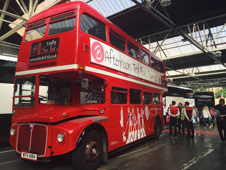 Best afternoon teas - BB Bakery Bus