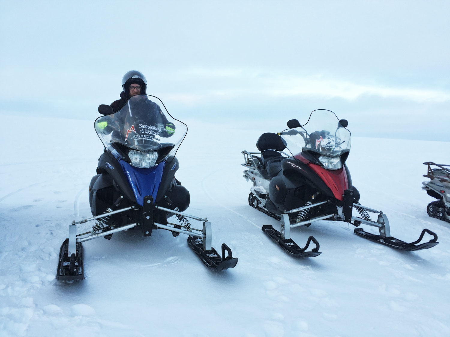 Iceland 5-day itinerary - Snowmobiling