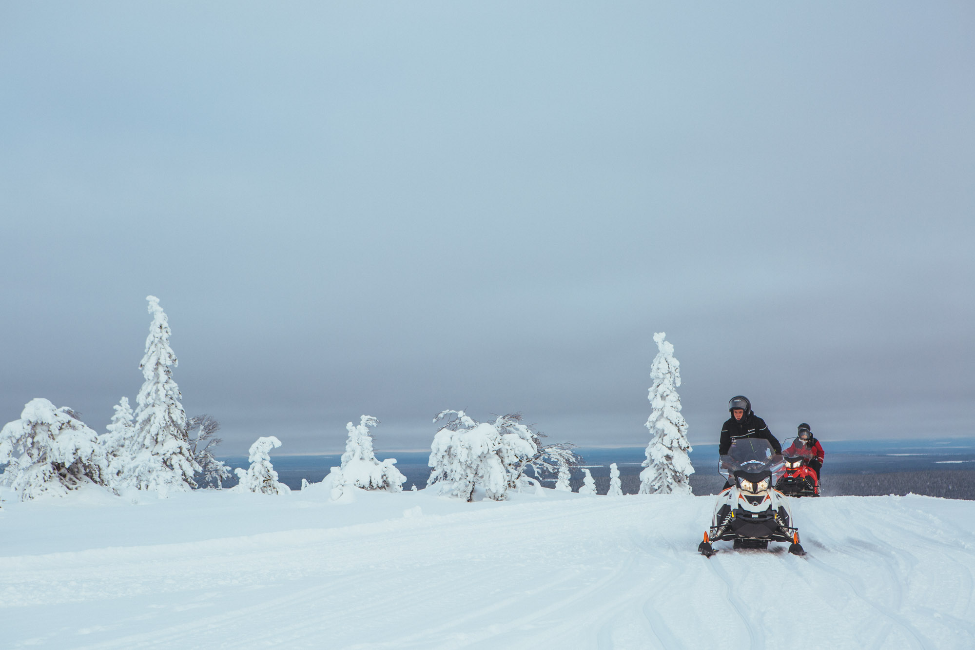 Amethyst Mine Snowmobiling tour - Jaakkola Reindeer Farm - 5-day Finland itinerary Northern Lights